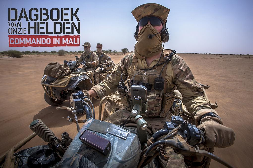 Mali, september 2014  6 daagse patrouille KCT